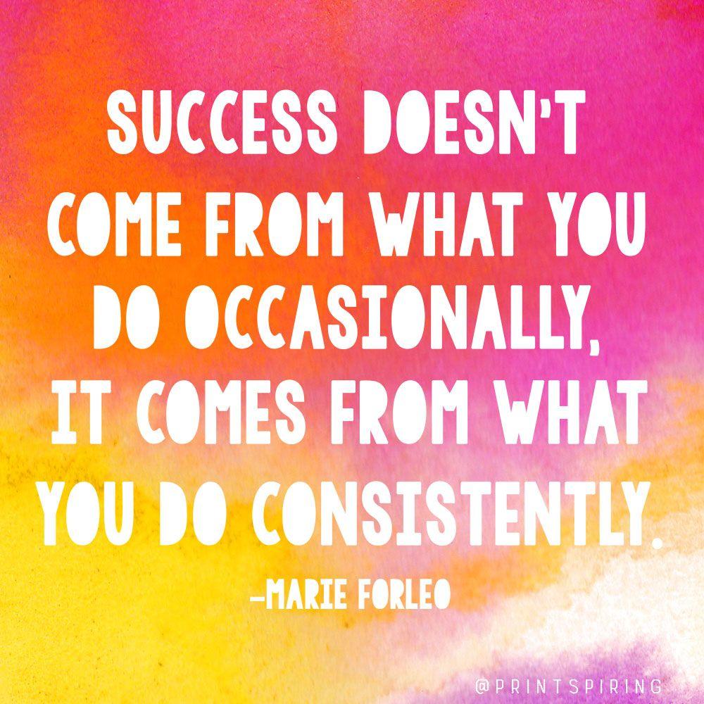 Consistency Success Quotes Facebook thumbnail