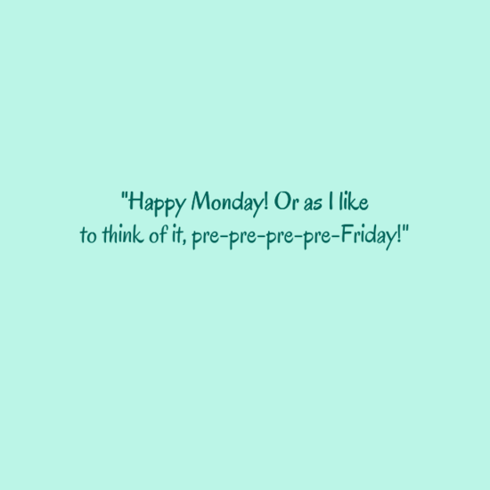 Cute Monday Sayings Tumblr thumbnail