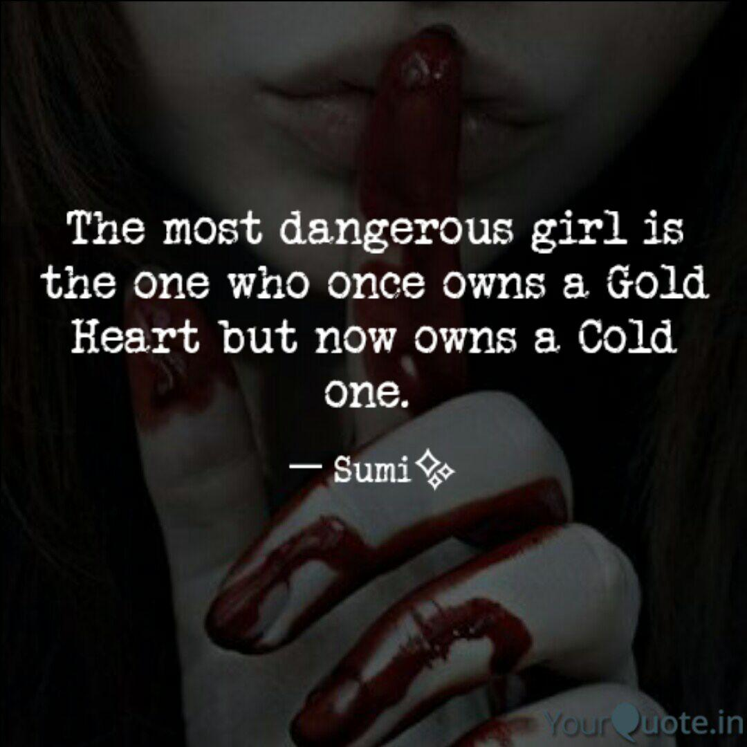 Dangerous Girl Quotes Twitter thumbnail