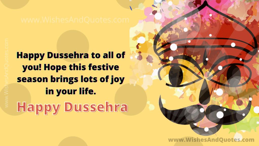 Dasara Festival 2021 Wishes Facebook thumbnail