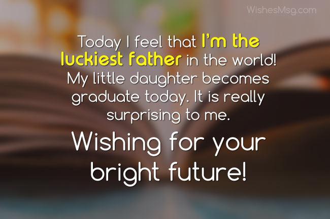 Daughter Graduation Quotes Inspirational Twitter thumbnail