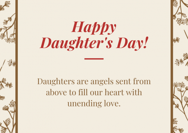 Daughters Day Special Quotes Twitter thumbnail