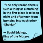 David Eddings Quotes Twitter