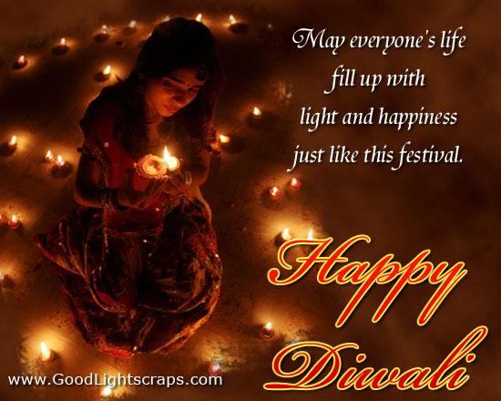 Diwali Cute Wishes Facebook thumbnail