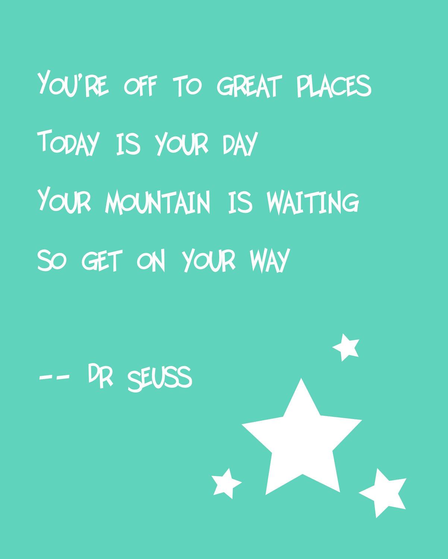 Doctor Seuss Graduation Quotes Facebook thumbnail