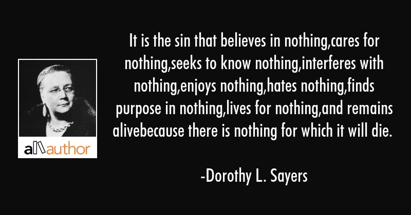 Dorothy Sayers Quotes Pinterest thumbnail
