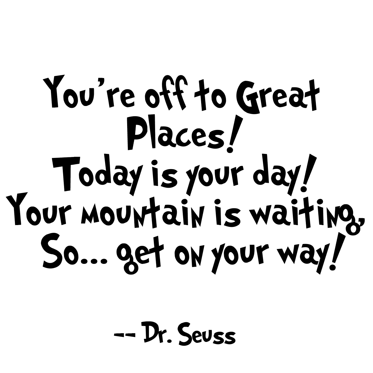Dr Seuss High School Graduation Quotes Tumblr thumbnail