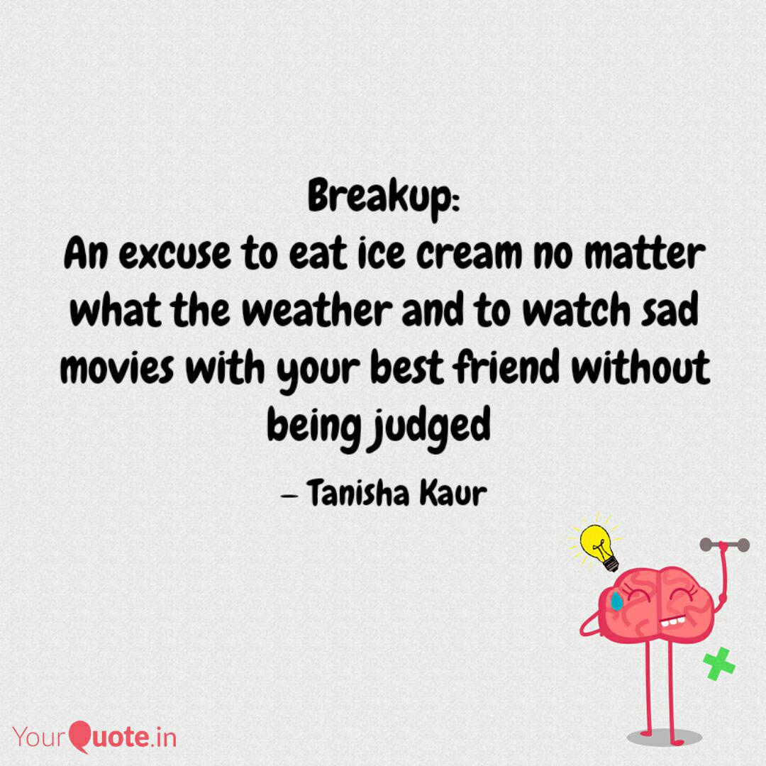 Eating Ice Cream With Friends Quotes thumbnail