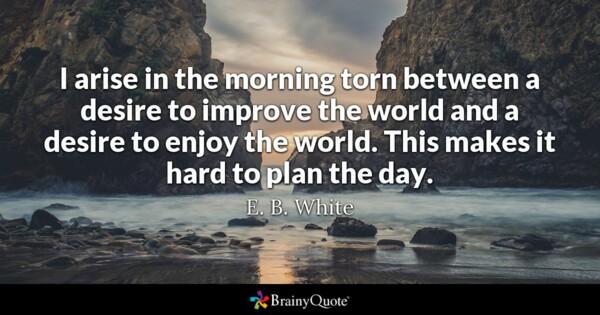 Eb White Quotes thumbnail