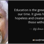 Education Is The Great Equalizer Quote Twitter