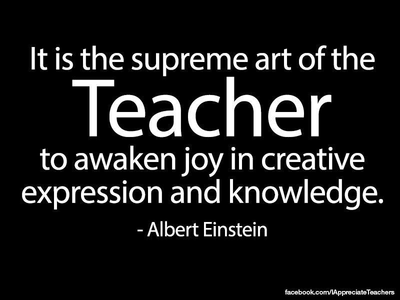 Einstein Teacher Quote Twitter thumbnail