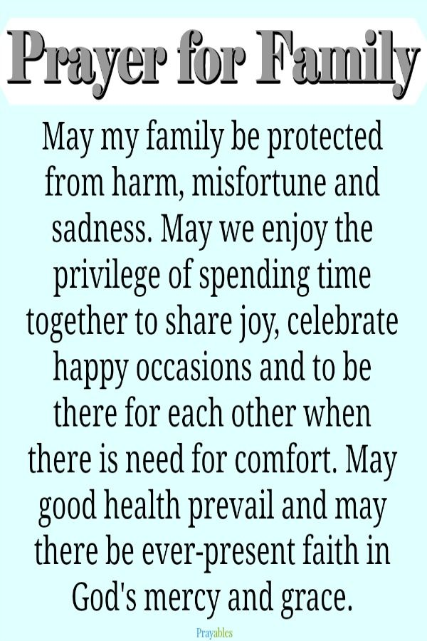 Family Prayer Quotes Images Facebook thumbnail