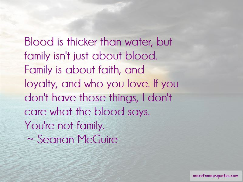 Family Quotes Blood Is Thicker Than Water Tumblr thumbnail