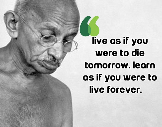 Famous Ghandi Quote thumbnail