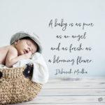 Famous Quotes About Babies Pinterest