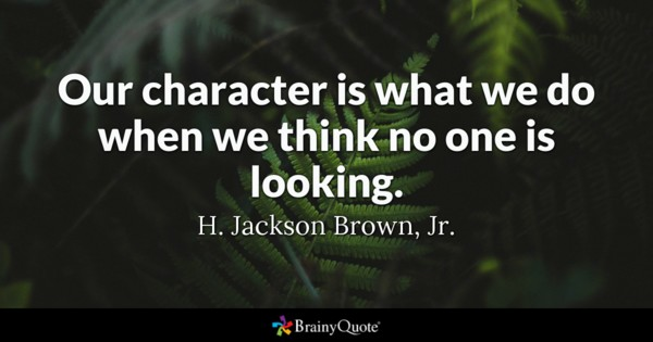 Famous Quotes About Character Facebook thumbnail