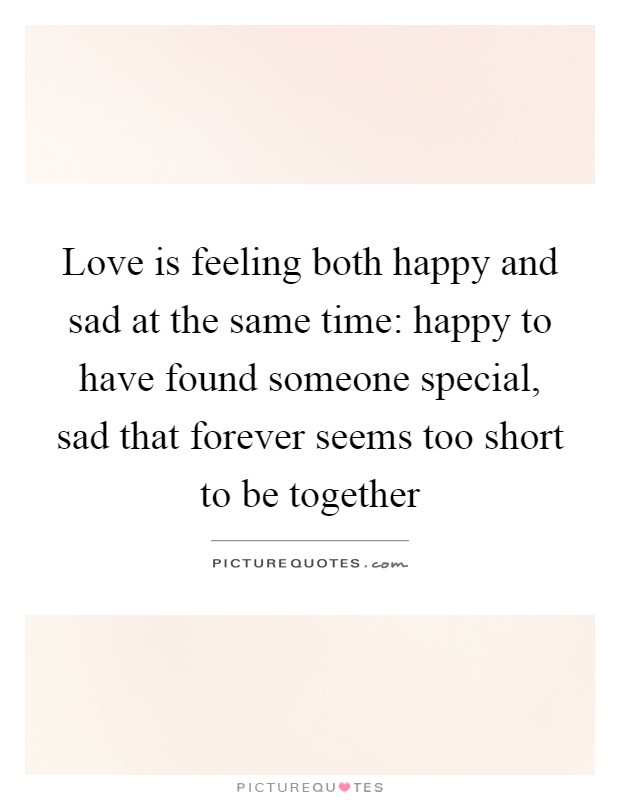 Feeling Happy And Sad At The Same Time Quotes Tumblr thumbnail