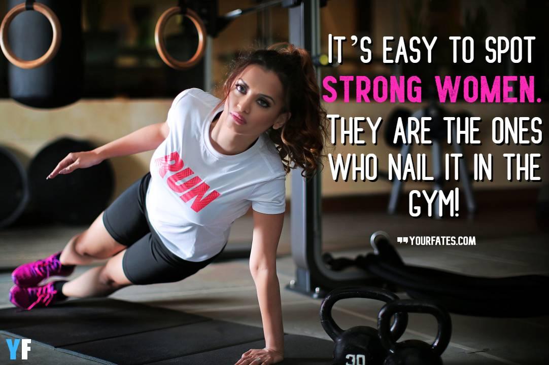 Female Gym Motivation Quotes Pinterest thumbnail