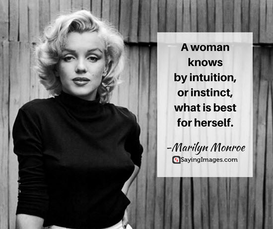 Female Intuition Quotes thumbnail