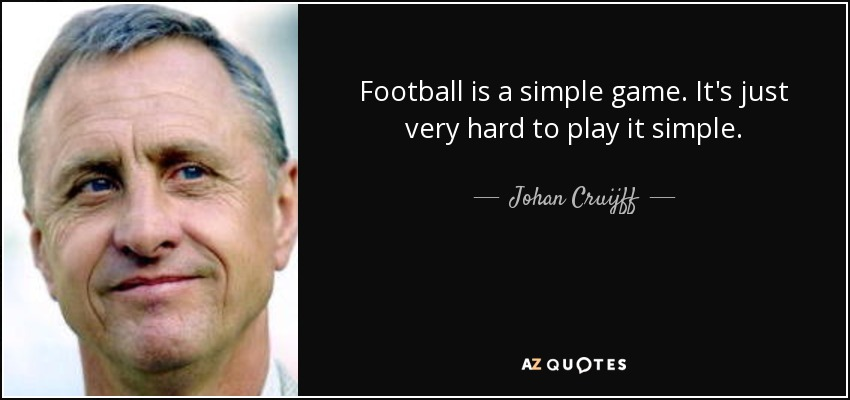Football Is A Simple Game Quote thumbnail