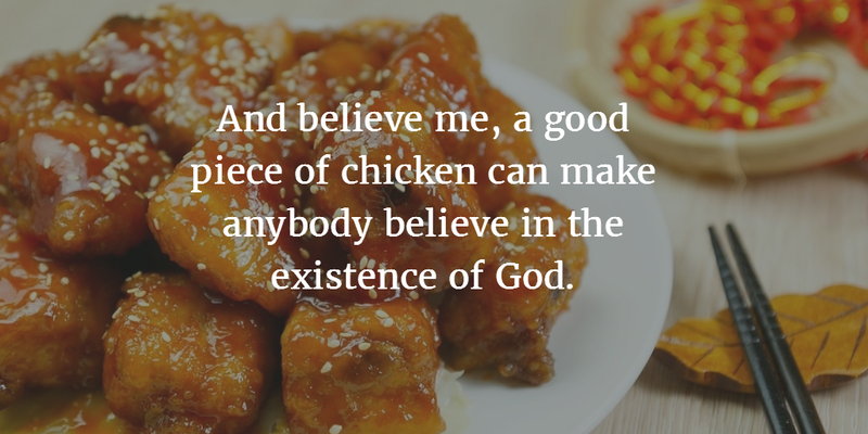 Fried Chicken Quotes Twitter thumbnail