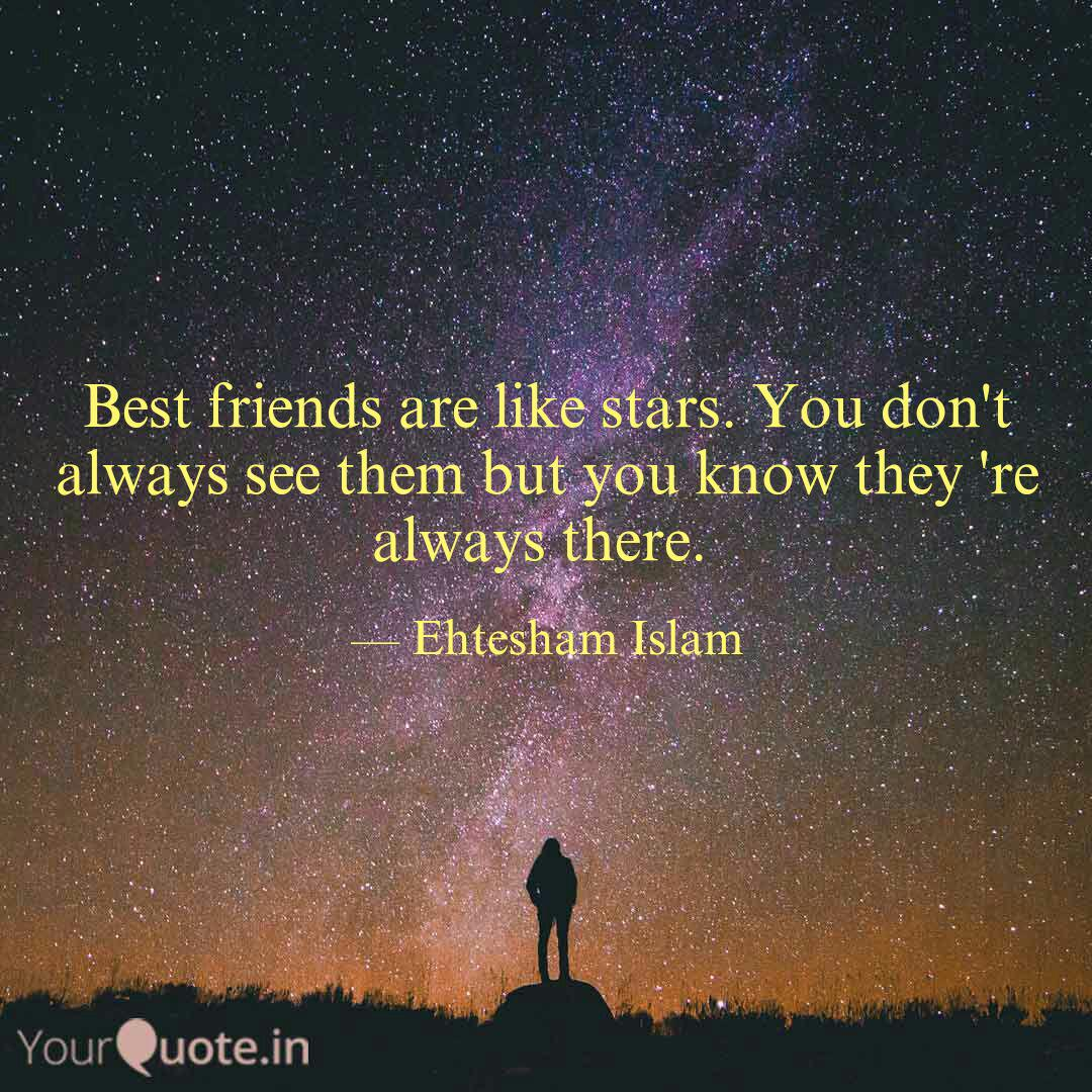 Friends Are Like Stars Quote Tumblr thumbnail