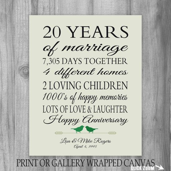 Funny 20 Year Anniversary Quotes Pinterest thumbnail