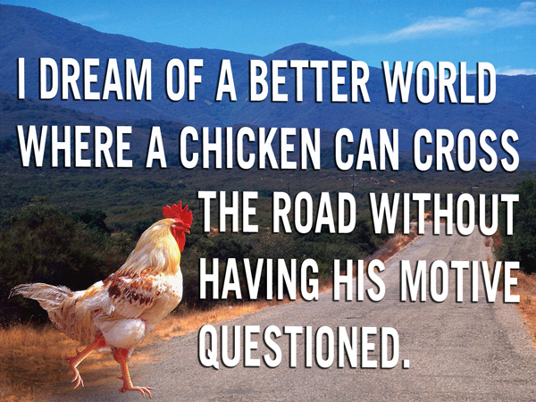 Funny Chicken Captions Twitter thumbnail