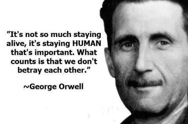 George Orwell Famous Quotes Twitter thumbnail