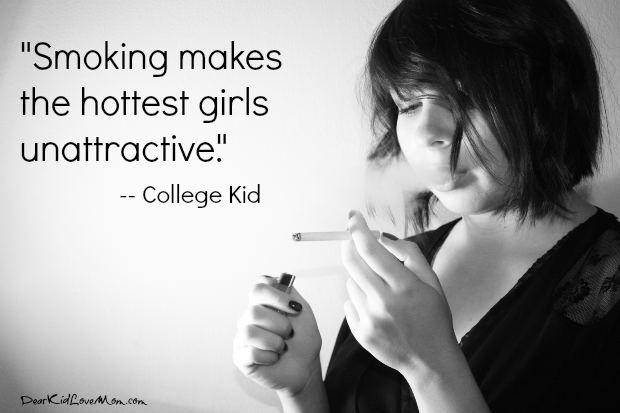 Girl Smoking Quotes Facebook thumbnail