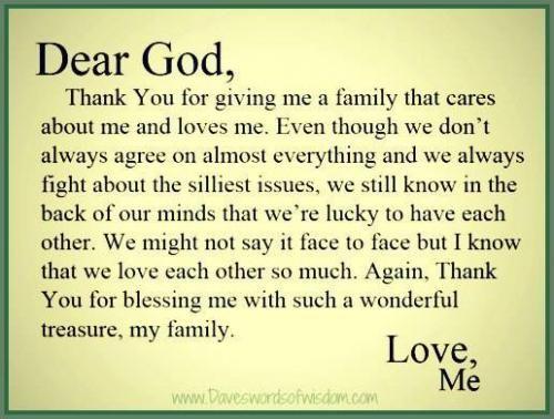 God Bless Family Quotes Tumblr thumbnail