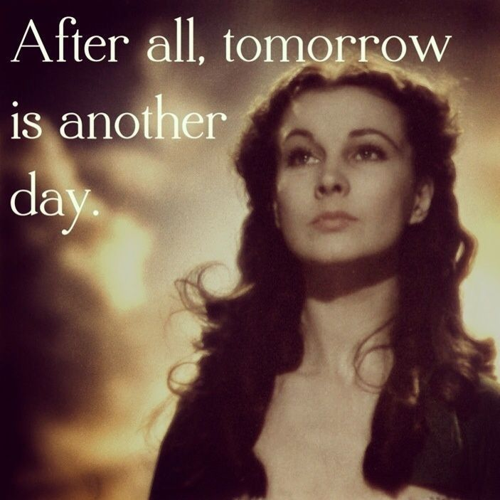 Gone With The Wind Tomorrow Is Another Day Twitter thumbnail