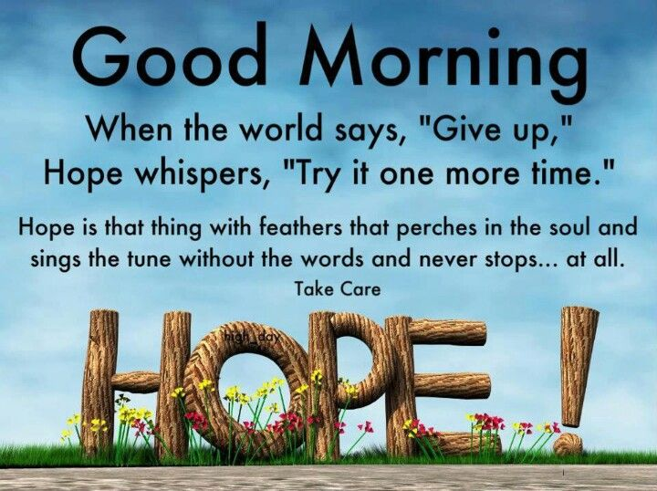 Good Morning Hope Quotes Twitter thumbnail