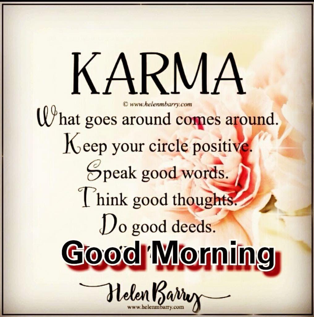 Good Morning Karma Quotes Tumblr thumbnail