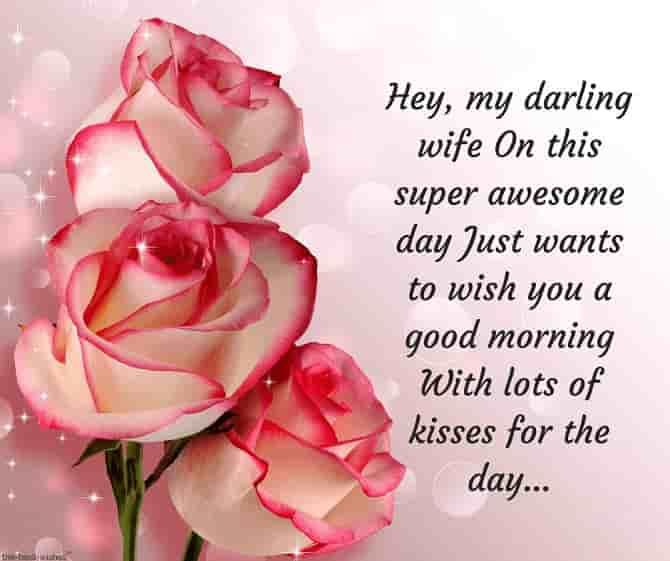 Good Morning Love Message To My Wife Facebook thumbnail