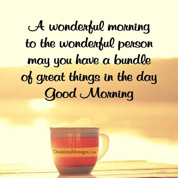 Good Morning Quotes For A Special Person Twitter thumbnail