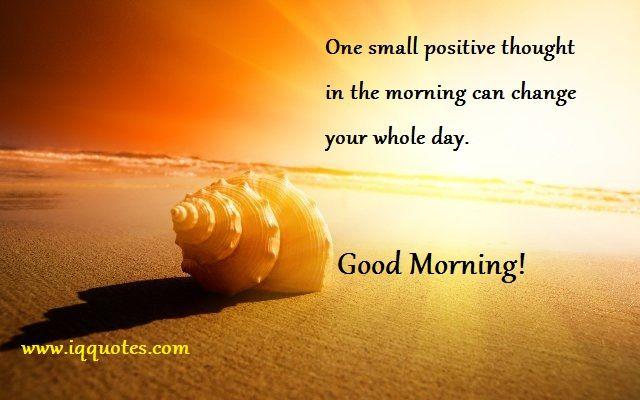 Good Morning Small Quotes Facebook thumbnail