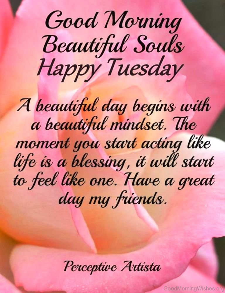 Good Morning Wishes Tuesday Facebook thumbnail