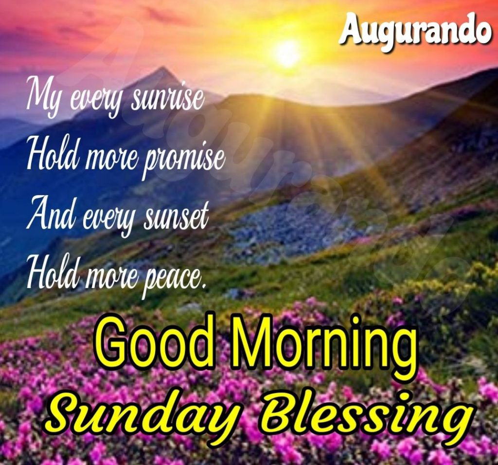 Good Morning With Sunday Wishes – Best Of Forever Quotes