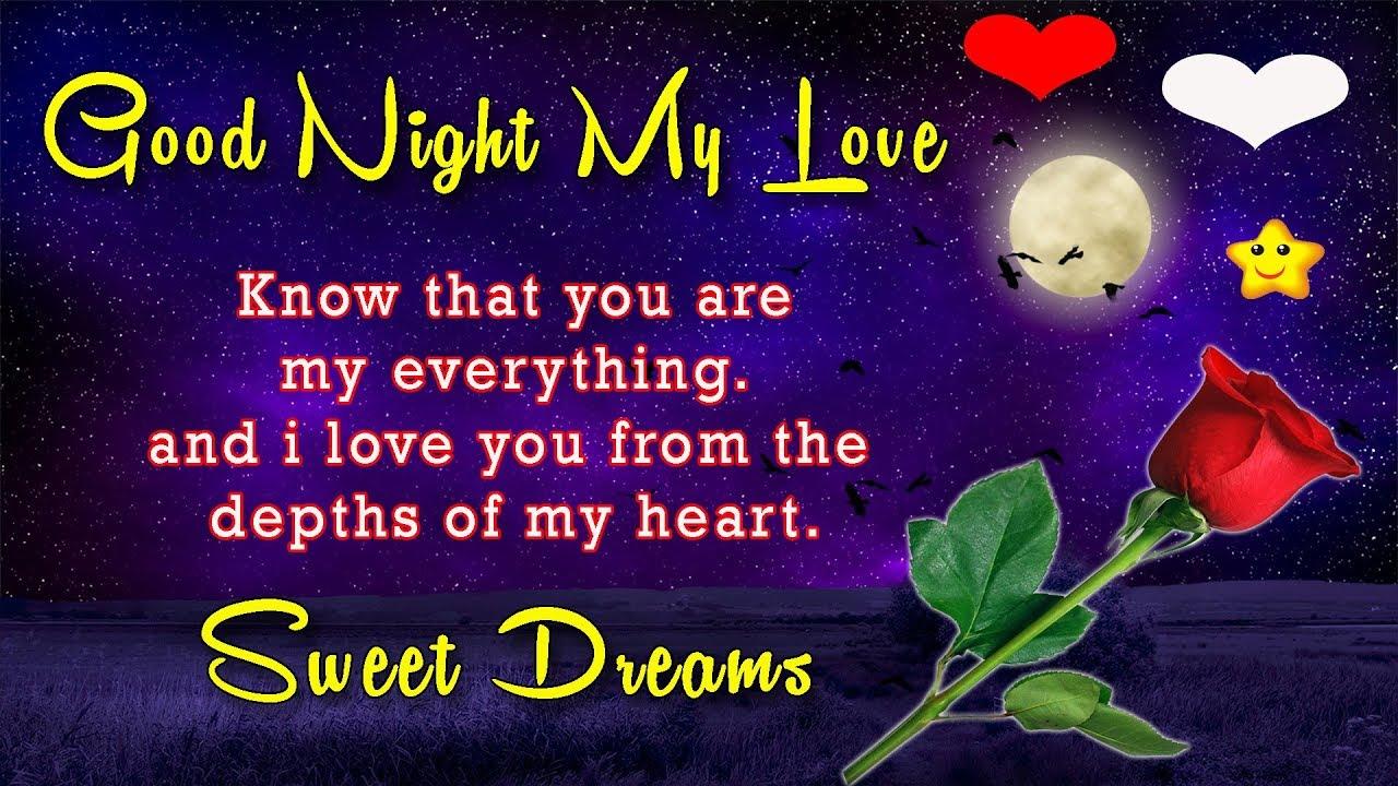 Good Night Darling Messages thumbnail