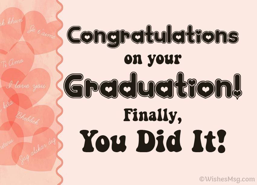 Graduation Congratulations Message For Girlfriend thumbnail