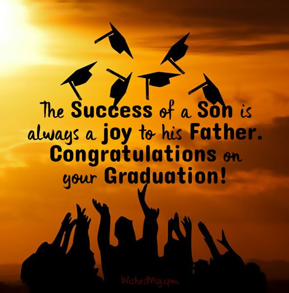 Graduation Congratulations Quotes For Son Facebook thumbnail
