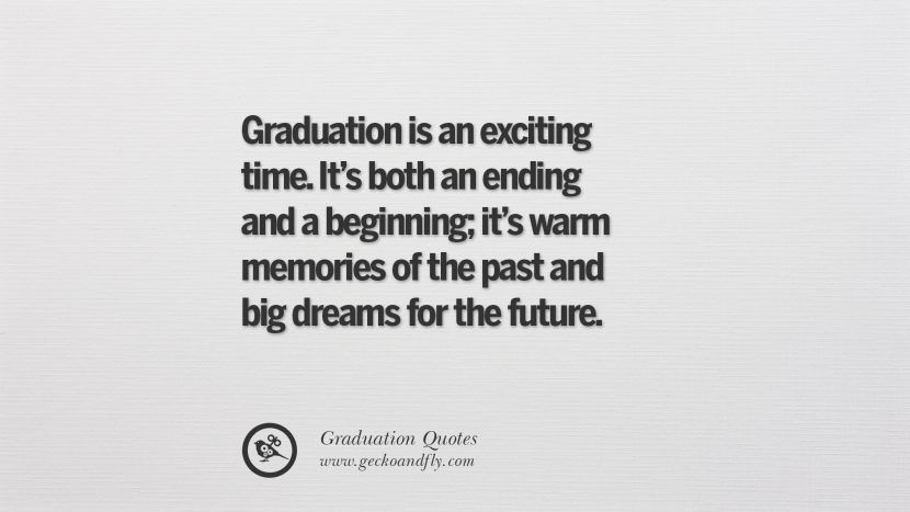 Graduation Is An Exciting Time Quote Twitter thumbnail