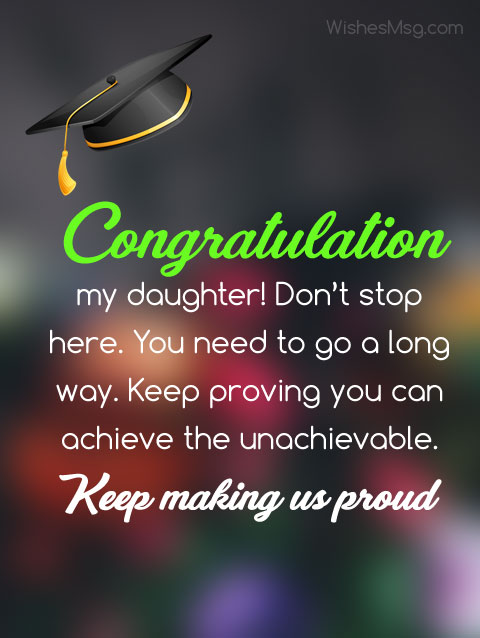 Graduation Wishes For Girl Facebook thumbnail