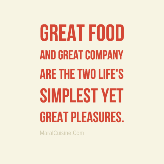 Great Food And Great Company Quotes Facebook thumbnail