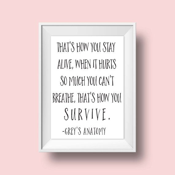 Grey's Anatomy Inspirational Quotes Pinterest thumbnail