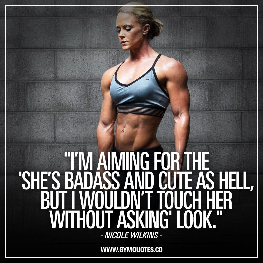 Gym Quotes For Her Facebook thumbnail