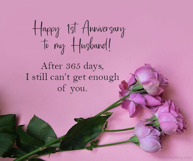 Happy 1st Year Wedding Anniversary Pinterest thumbnail