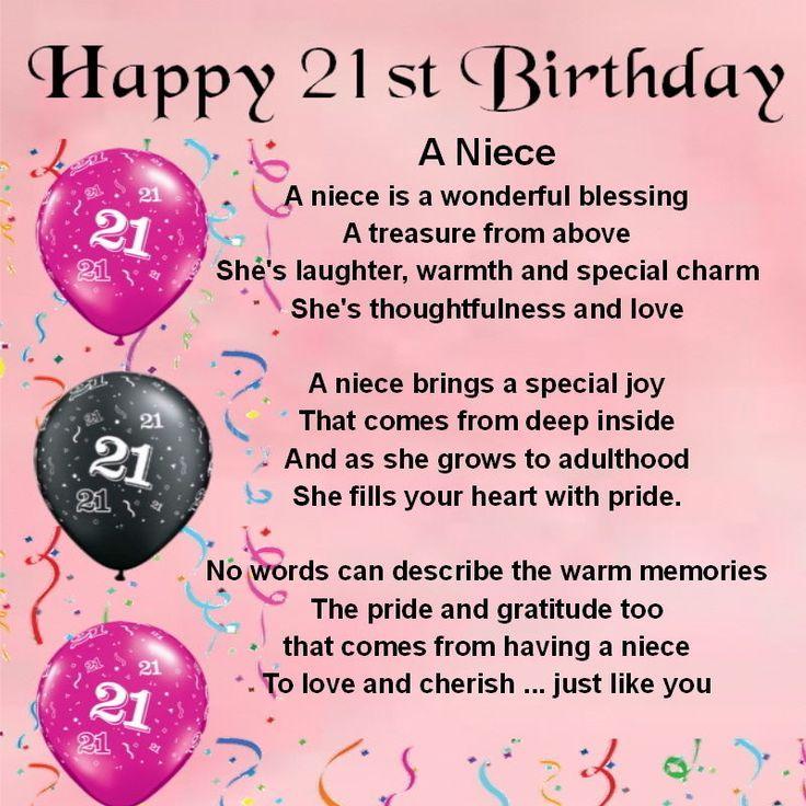 Happy 21st Birthday Niece Twitter thumbnail