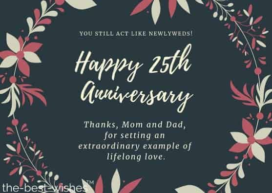 Happy 25th Wedding Anniversary Mom And Dad Pinterest thumbnail